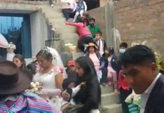 Más de 40 asistentes a matrimonio evangélico terminaron en comisaría por infringir normas sanitarias en Junín [VIDEO]