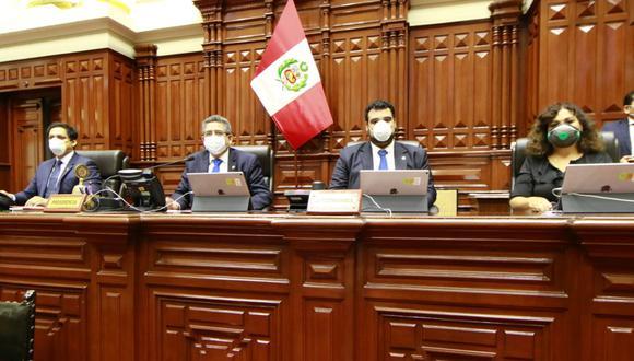 Mesa Directiva dará 50% de su sueldo a favor de la lucha contra el COVID-19. (Congreso de la República)