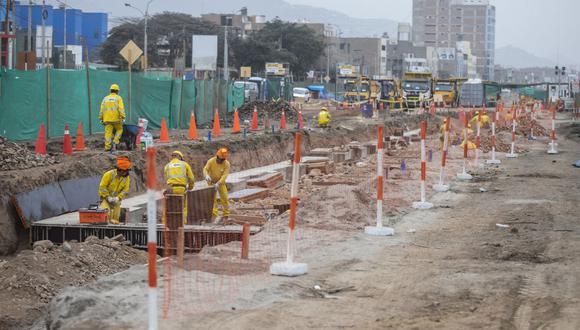 Desde el jueves 24 de junio se extenderá el plan de desvío vehicular que se aplica en la avenida Universitaria ante el avance de las obras de ampliación norte del Metropolitano. (Foto: Municipalidad de Lima)