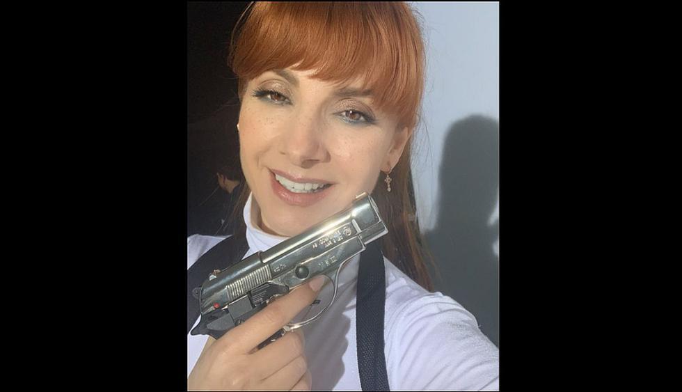 """""""La casa de papel"""" presentó a 'Alicia Sierra', la nueva inspectora que irá tras los 'atracadores'. (Foto: @najwanimri)"""