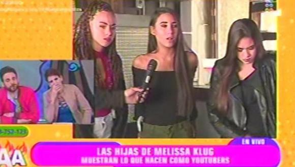Las hijas de Melissa Klug pasaron un momento realmente incómodo.