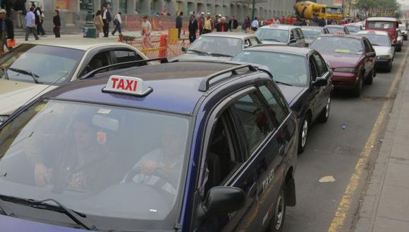 Taxis que no cambiaron de modalidad seguirán operando. (USI)
