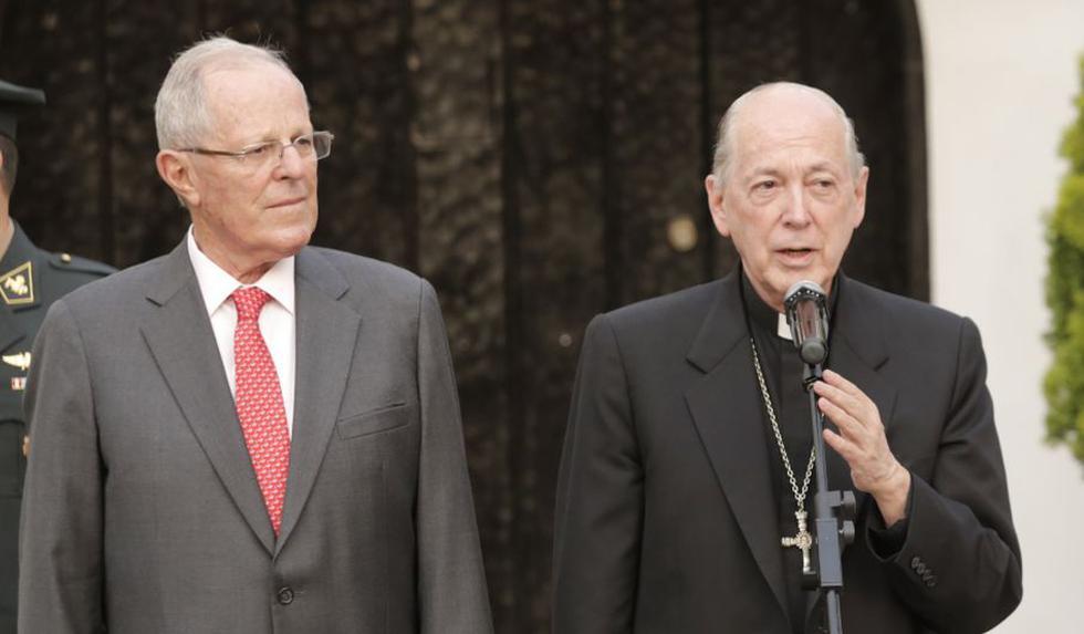 PPK manuvo reunión con Cipriani. (Perú21)
