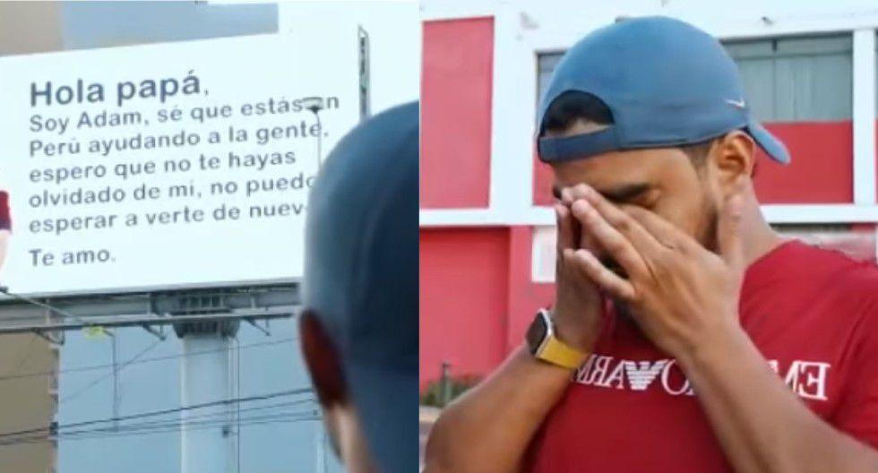 Trujillo: Hijo de árabe Yaqoob Mubarak lo sorprende hasta las lágrimas con emotivo mensaje. (Foto: Yaqoob Mubarak)