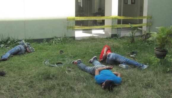 Integrantes de banda criminal fueron capturados en Chincha. (USI)