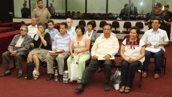 Abimael Guzmán y miembros de su cúpula son acusados de ser autores mediatos del atentado (Francisco Medina Tagle/Poder Judicial)