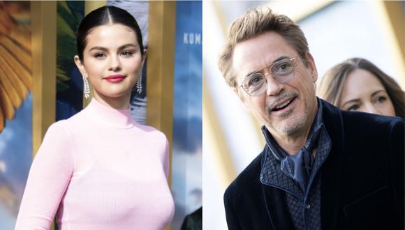 """Selena Gomez y Robert Downey Jr. reinan en el estreno de """"Dolittle"""". (Foto: AFP)"""