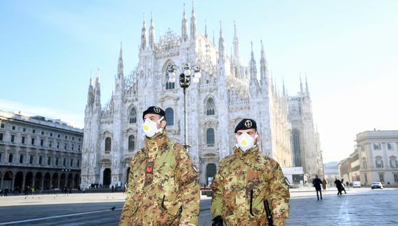 Italia registra hasta el martes al menos 10 muertos por coronavirus. (REUTERS/Flavio Lo Scalzo).