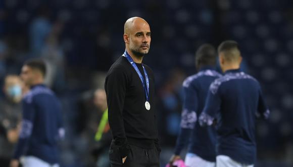 Pep Guardiola perdió la primera final de Champions League en su carrera. (Foto: Reuters)