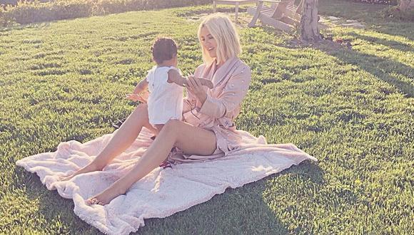 Publicación de Khloé Kardashian tiene un millón de likes por parte de todos sus fanáticos. (Foto: Instagram)