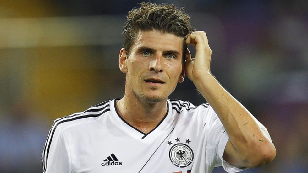 Brasil 2014: Alemania no convoca a Mario Gómez. (EFE)