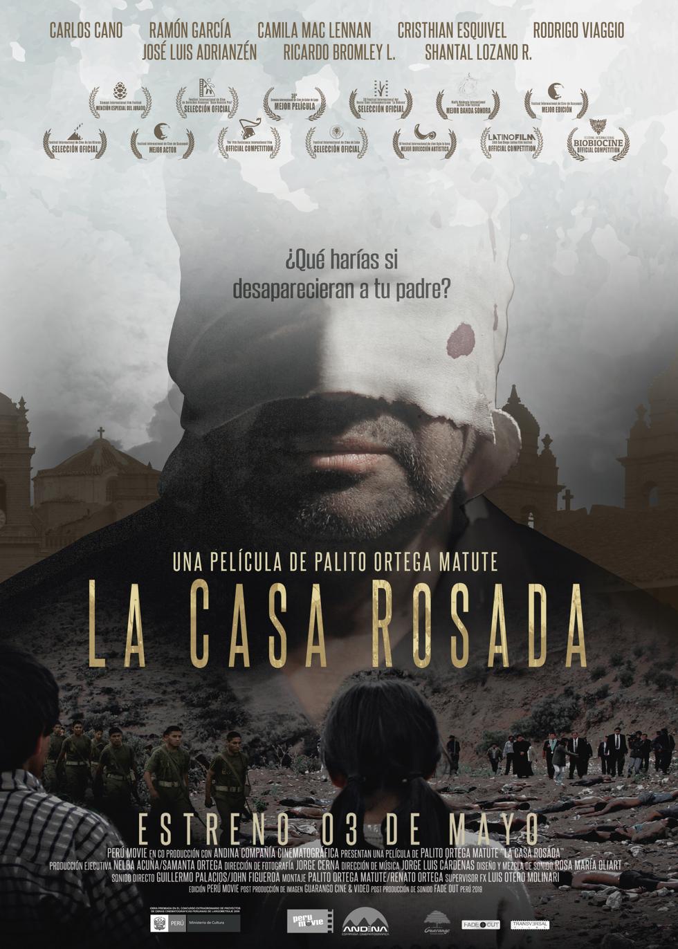 Poster oficial de 'La Casa Rosada' (Difusión).
