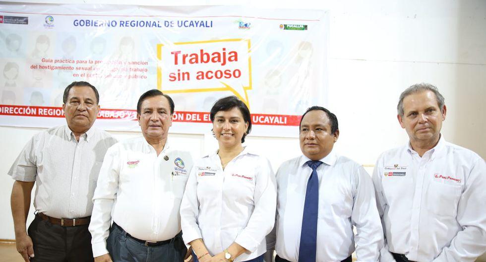 """El servicio """"Trabaja sin acoso"""" será ofrecido por la Dirección Regional de Trabajo y Promoción del Empleo de Ucayali. (Foto: GEC)"""