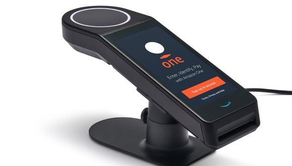 Amazon presenta su tecnología Amazon One, que permite pagar con solo escanear la palma de la mano. (Foto: Amazon.com)