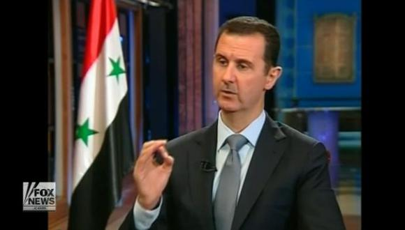 Bashar al Assad admitió tener arsenal químico. (Fox News)