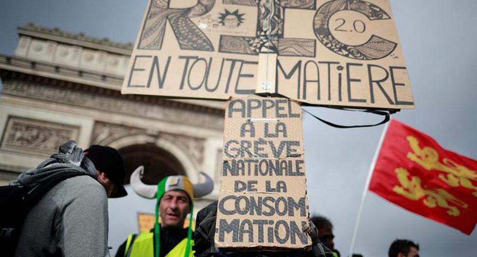 También se organizaron marchas en otros puntos del país, por la tarde, en ciudades como Marsella, Montpellier, Toulouse y Arles, en Estrasburgo, Nantes o Burdeos. (Foto: EFE)