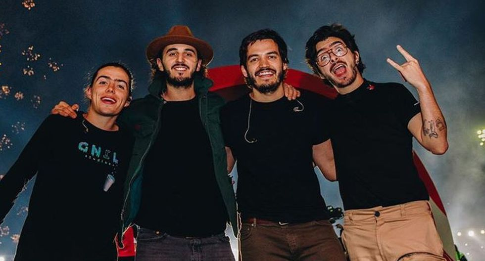 Integrantes de la banda colombiana Morat en cuarentena obligatoria por positivo al COVID-19. (Foto: Instagram)
