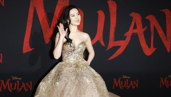"""""""Mulan"""" desafía al coronavirus y celebra su estreno mundial en Hollywood. (Foto: EFE)"""