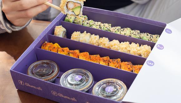"""Kuma Rolls"" es un dark kitchen de comida nikkei"