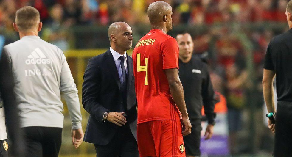 """""""Debo decir que estoy preocupado. Es un golpe duro que nadie merece"""", destacó el seleccionador belga. (AFP)"""
