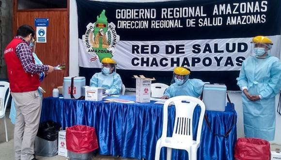 Amazonas: Contraloría detectó que tres trabajadores del gobierno regional fueron vacunados contra el COVID-19 con dosis destinadas a personal de salud de primera línea. (Foto: Contraloría)