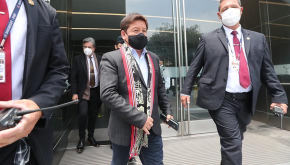 Primer ministro Guido Bellido deberá responder por la acusación de agresión verbal hacia Patricia Chirinos. Foto: GEC