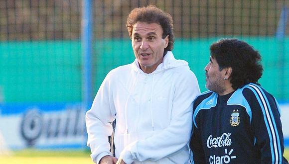 Óscar Ruggeri se pronuncia sobre situación de Diego Maradona (EFE)