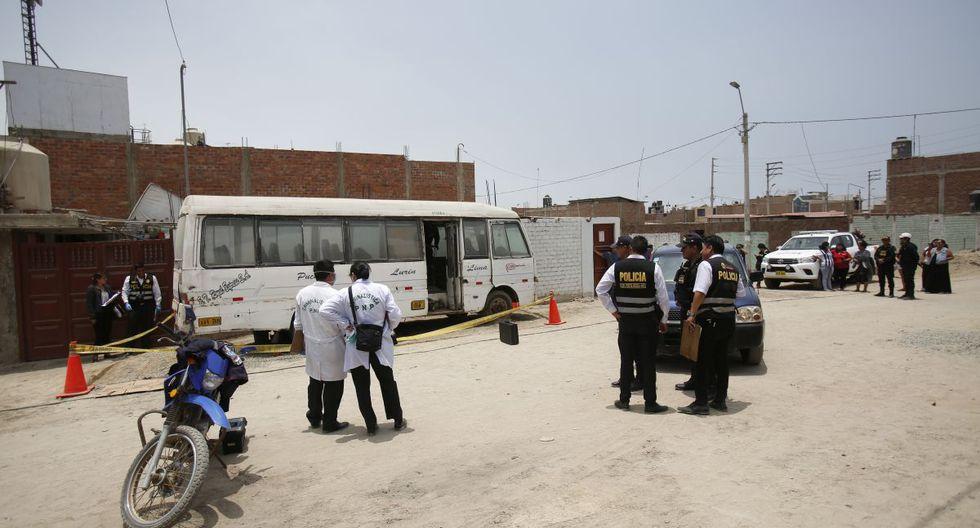 La Policía llegó al lugar y cercó la escena de la balacera. (Imagen referencial/GEC)