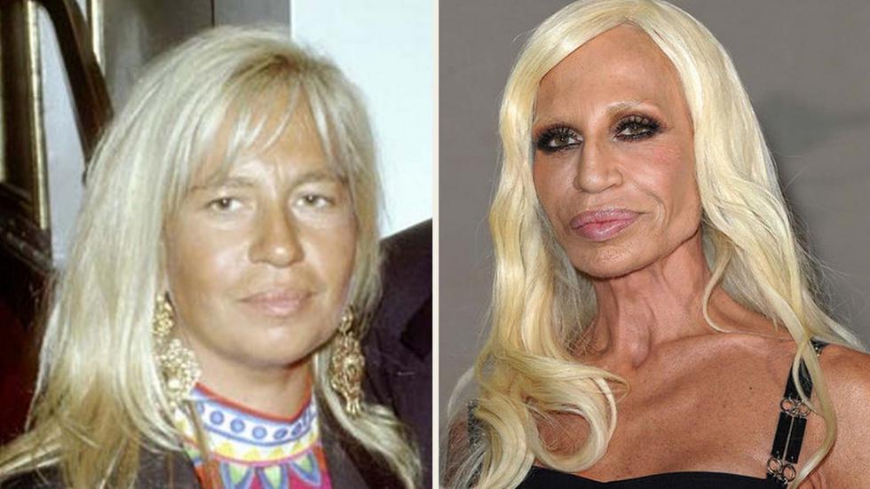 Donatella Versace. (Agencias)