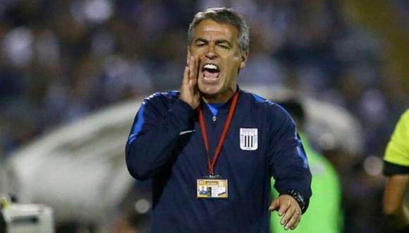 El entrenador de Alianza lima tuvo duros comentarios contra el VAR utilizado en Juliaca. (Foto: Archivo GEC)