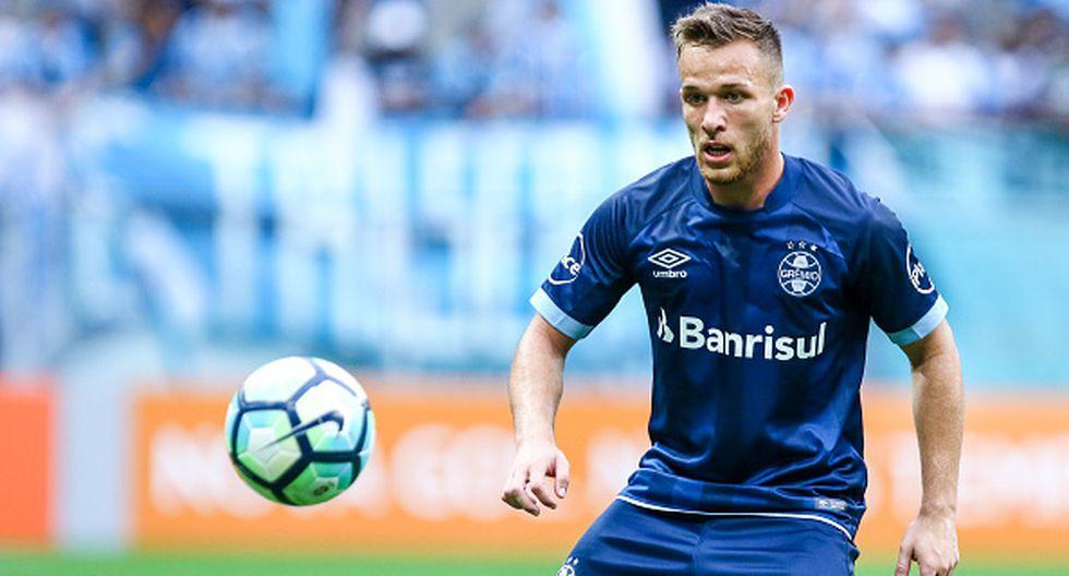 Arthur Melo es una de las principales figuras del fútbol brasileño actual. (GETTY IMAGES)