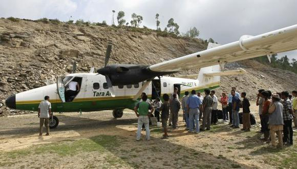 Nepal: 23 personas murieron en accidente aéreo. (AFP)