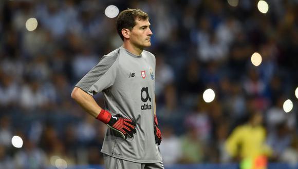 Iker Casillas sumará cuatro temporadas en Portugal (Foto: AFP).