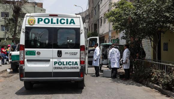 La Policía es cuestionada por no atender con rapidez caso del triple crimen en El Agustino. (Andina)