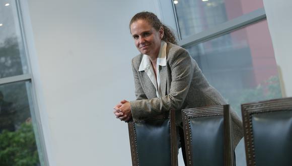 Presidenta de la Bolsa de Valores de Lima y ex titular del MEF. (JESÚS SAUCEDO/GEC)