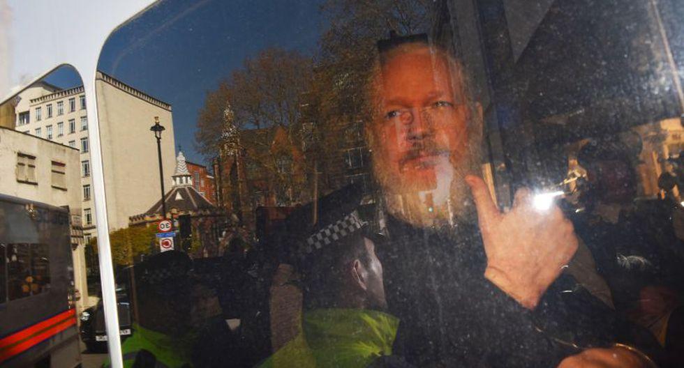 La nota de EE.UU. detalla que Assange coordinó con la ex soldado Chelsea Manning la obtención dematerial clasificado del gobierno.(Foto: EFE)