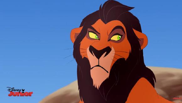 El rey león: el verdadero origen de la cicatriz en el rostro de Scar (Foto: Disney)