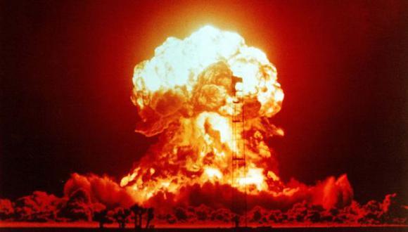 Explosión de una bomba atómica. (Internet)