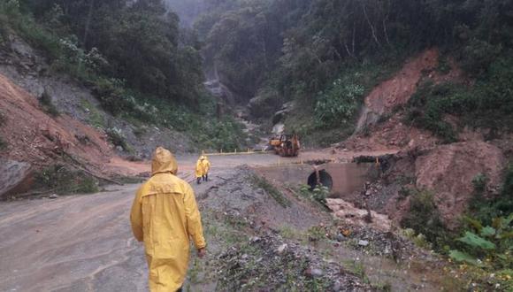 Defensa Civil detalló que para llegar a San Pedro Ocotepec se requiere de un recorrido de tres horas por tierra. | Foto: Twitter