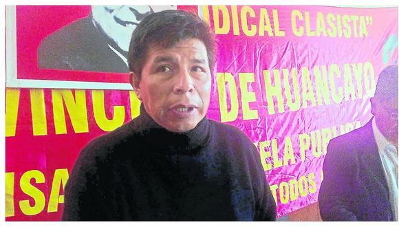 El partido Perú Libre, que acoge a Pedro Castillo, es de propiedad del condenado por corrupción Vladimir Cerrón, exgobernador regional de Junín.