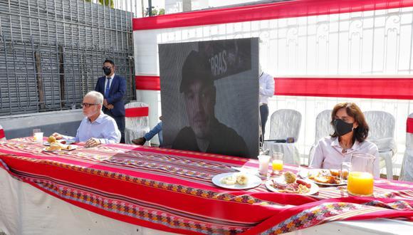 El candidato George Forsyth participó de un desayuno electoral virtual. (Foto: Giancarlo Ávila @photo.gec)