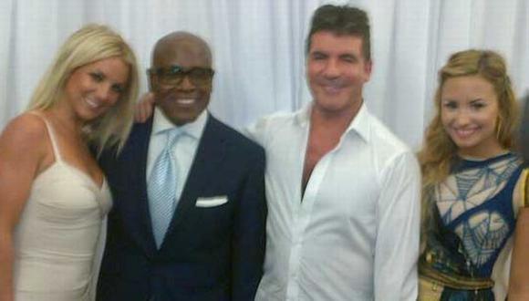 Britney Spears, L.A Reid., Simon Cowell y Demi Lovato juzgarán a los miles de participantes. (Twitter de Simon Cowell)