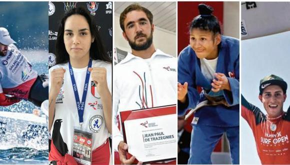 Los más destacados en el deporte nacional en el año. (Perú21)