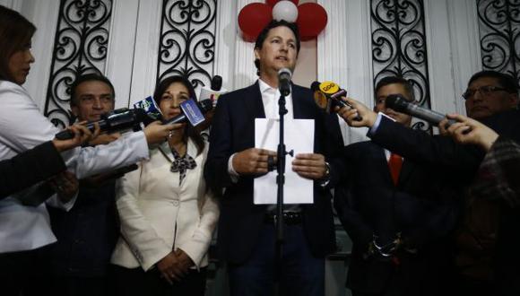 Congresistas de Fuerza Popular defiende a su lideresa, Keiko Fujimori. (Renzo Salazar)