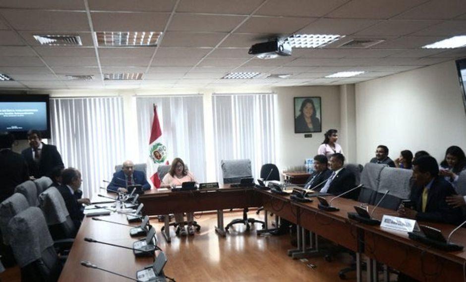 Janet Sánchez aseguró que el pasado 14 de febrero devolvió los S/ 2.800 del bono de representación que recibió. (Foto: GEC)