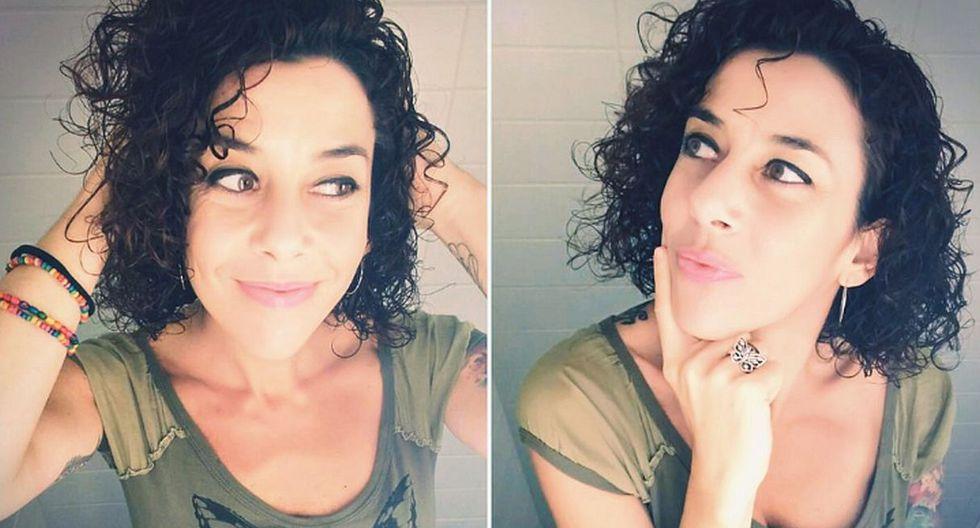 """Carolina Jiménez se hizo popular en redes por usar ropa de la sección de niños pues esta le llama más la atención que la de """"señora"""". (Foto: Twitter @Okinfografia)"""