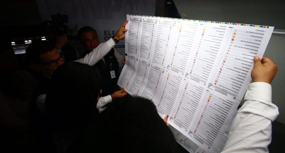 En la víspera la ONPE inició la impresión de más de 24 millones de cédulas de votación. (Foto: GEC)