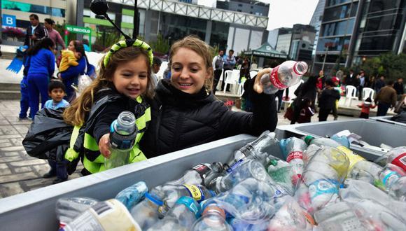 Ley buscará reducir el uso del plástico en todo el país. (Foto: Andina)