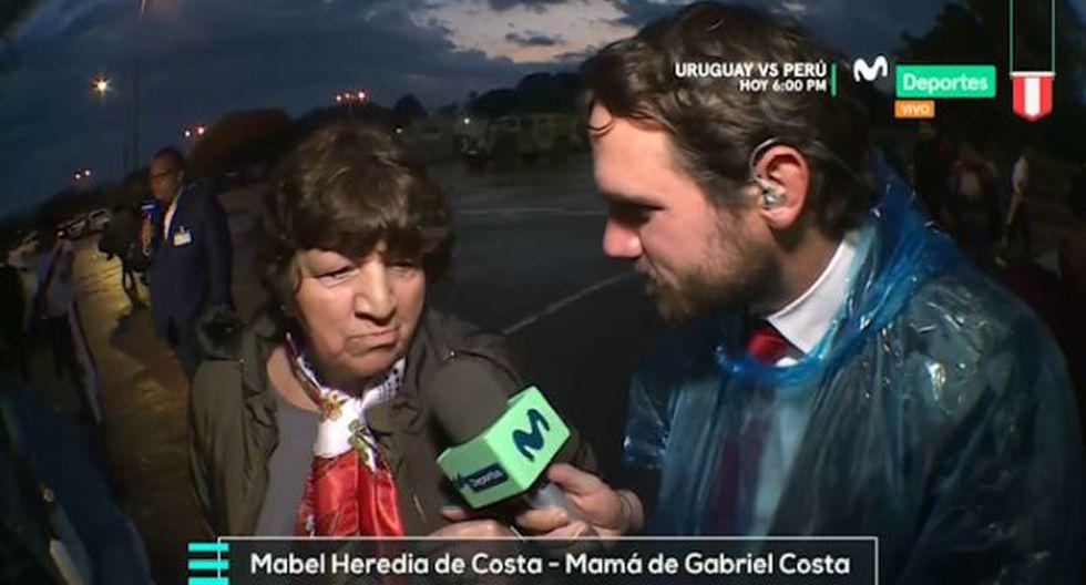 Costa inició como titular el primer duelo entre Perú y Uruguay en octubre. (Movistar Deportes)