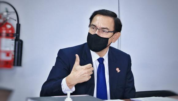 Martín Vizcarra fue inhabilitado 10 años por el Congreso por su presunta vacunación irregular contra el COVID-19 con dosis del laboratorio chino Sinopharm, caso conocido como el 'Vacunagate'. (Foto: Difusión)